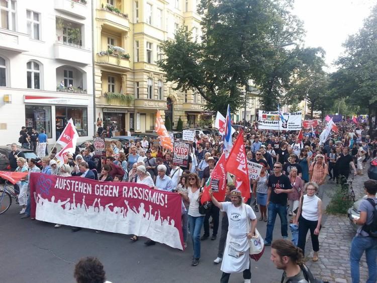 Stoppt den Hass – Stoppt die AfD!