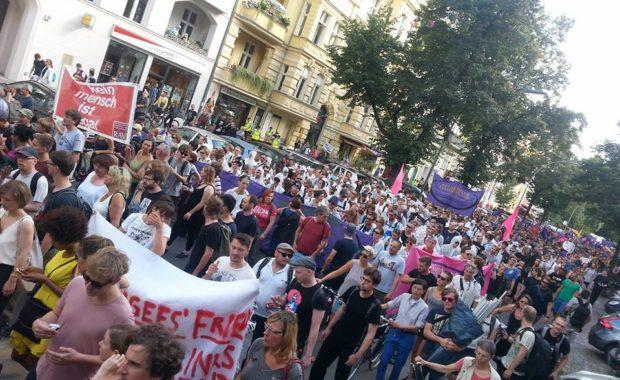 Aktionstag Bundestag Nazifrei #NoAfD! am 2. September