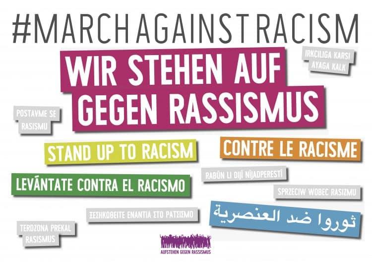 Weltweit am 16. März 2019 gegen Rassismus und Faschismus