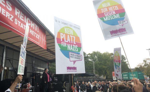 """PM: Nein zu Rassismus und Naziterror in Chemnitz! Keine neue """"Pro Chemnitz""""-Demo!"""