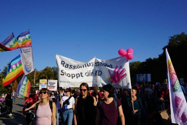#unteilbar Demo 13.10. in Berlin – Das war unser Beitrag