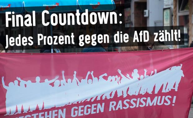 Jedes Prozent gegen die AfD zählt!So kannst du mitmachen