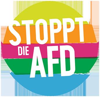 Bildergebnis für fotos vom logo berlin stellt sich gegen die afd quer
