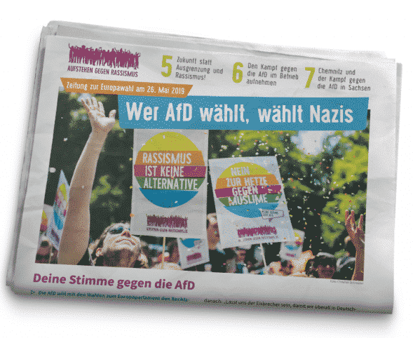 NEU: Zeitung zur Europawahl 2019