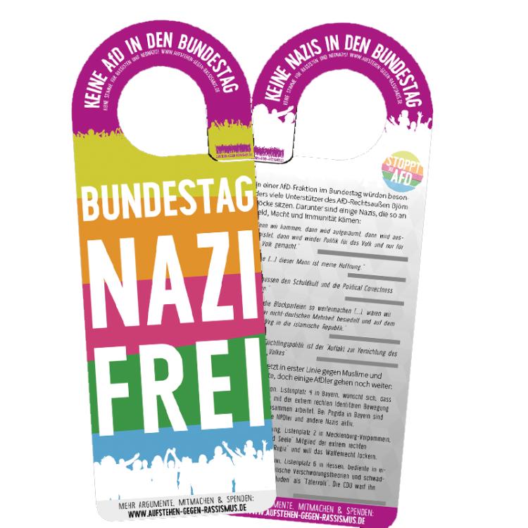 Pünktlich zum Bundestagswahlkampf: Neues Material