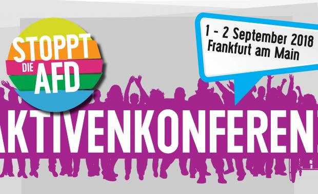 Aufstehen gegen Rassismus Aktivenkonferenz | 1.-2. September | Frankfurt am Main
