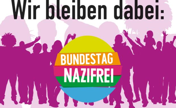 Gegen die faschistische Gefahr im Bundestag! Gegen die AfD!